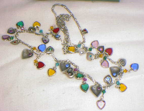 Heart Necklace - 34""