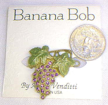 Grapes of Bob Hairclip