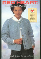 Knit & Crochet Sweater Pattern Book