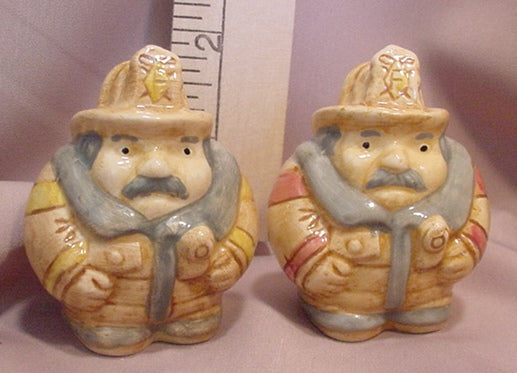 Firemen Salt and Pepper Shakers - SPFI