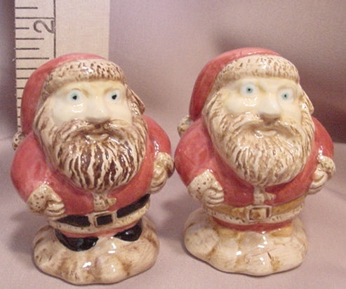 Santas Salt and Pepper Shakers - SPSA