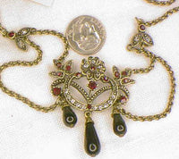 Victorian Mourning - Jet Necklace