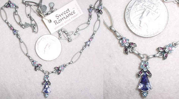 Dreamer in Silver-Tanzanite Necklace