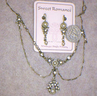 Lady Dover Necklace and Earring Set