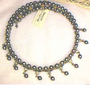 Lupita / Tahitian Pearl Necklace