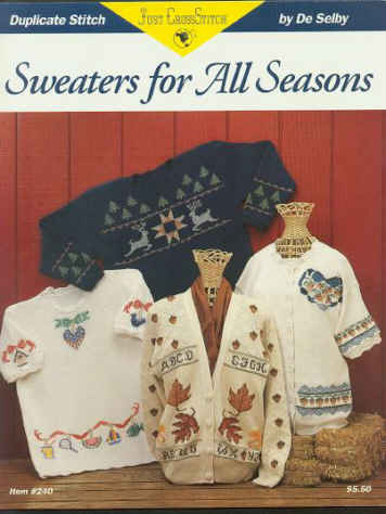 Sweaters For All Seasons - Duplicate Stitch Designs