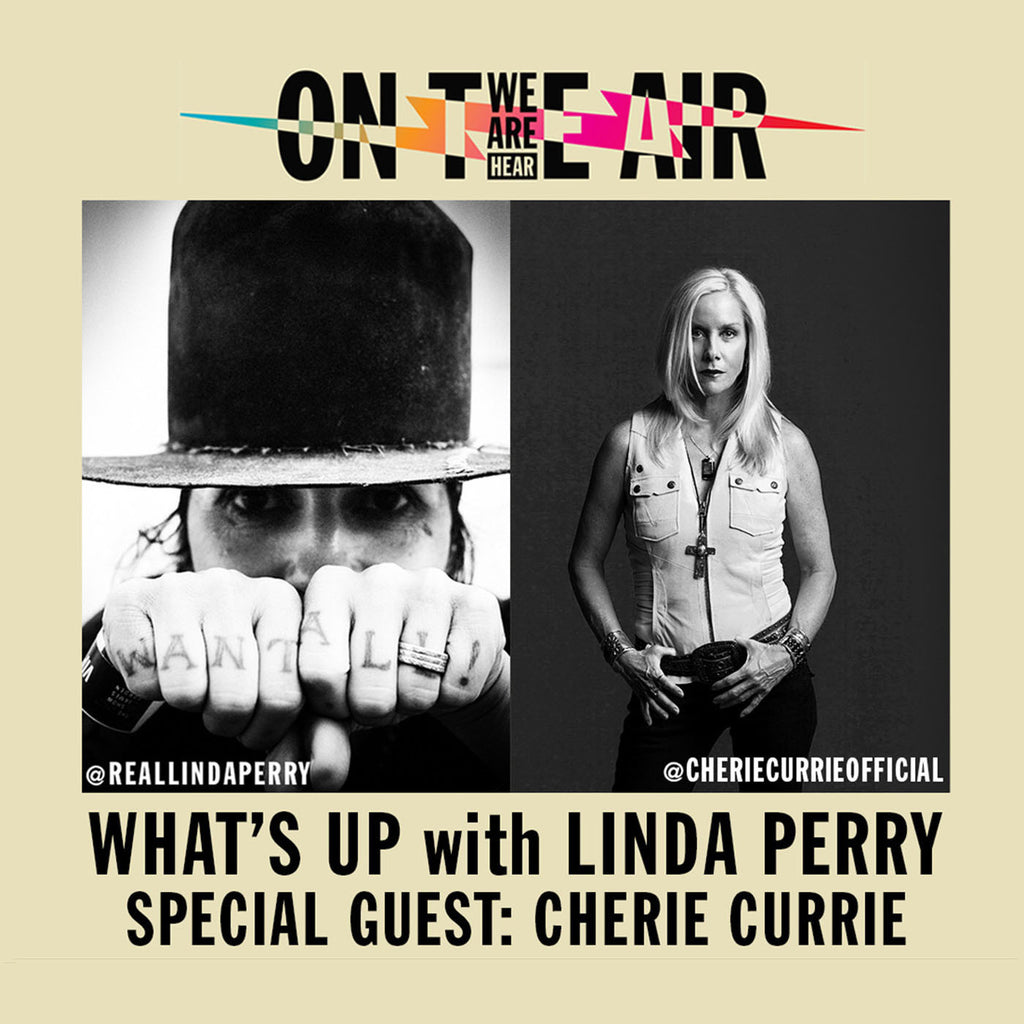 Cherie Currie of The Runaways on 'What's Up with Linda Perry!'
