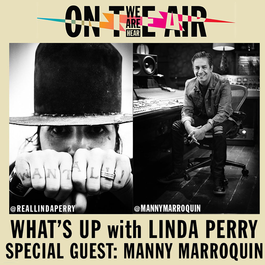 Linda Lays Trax with Manny Marroquin, on 'What's Up with Linda Perry!'