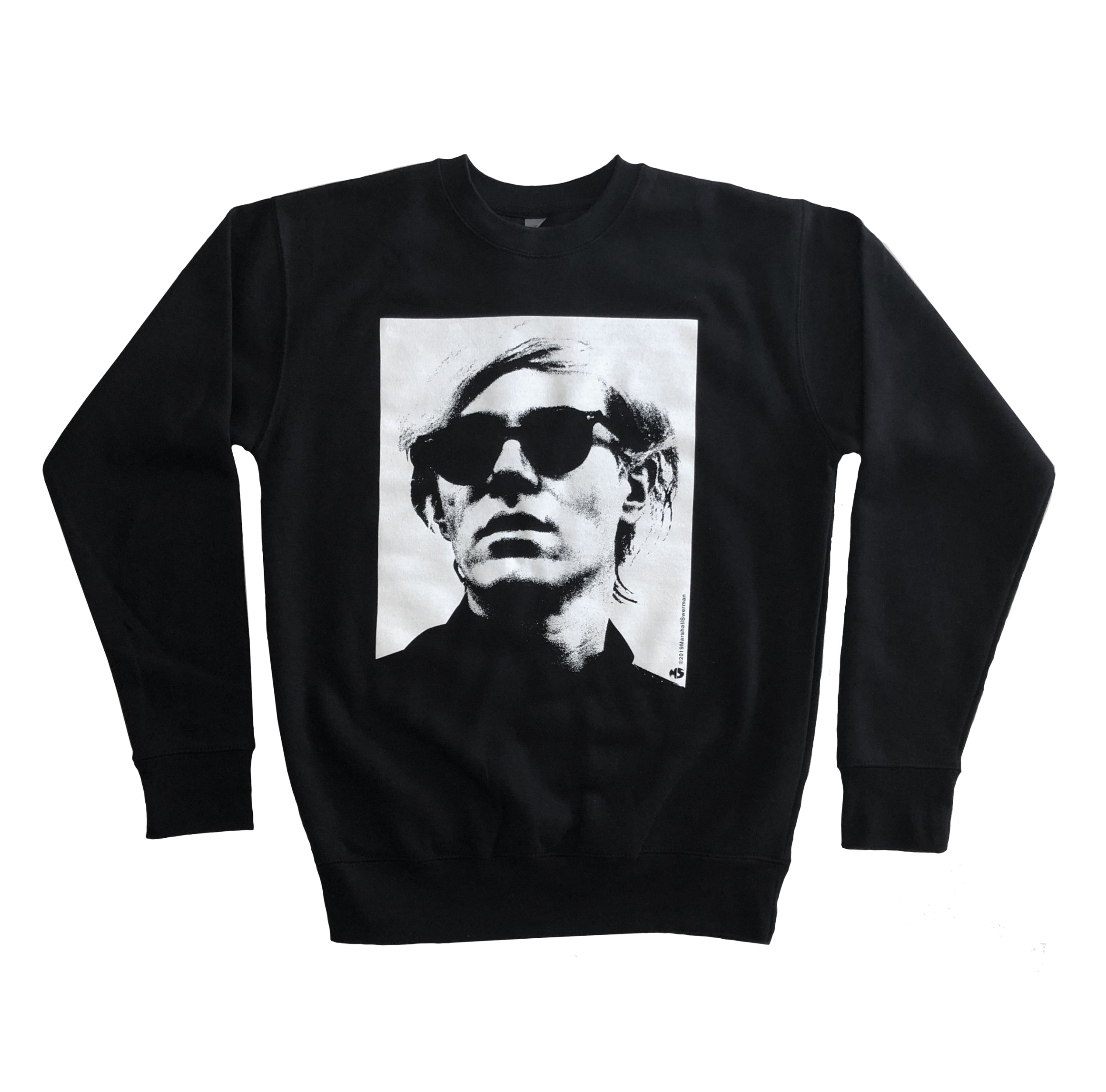 Warhol Black Crewneck Sweater
