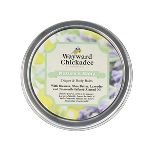 NEW | Nature's Baby | Diaper & Body Balm - Wayward Chickadee
