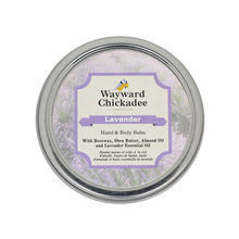 Load image into Gallery viewer, Lavender | Hand & Body Balm - Wayward Chickadee