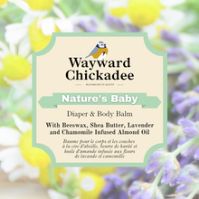 Load image into Gallery viewer, NEW | Nature's Baby | Diaper & Body Balm - Wayward Chickadee