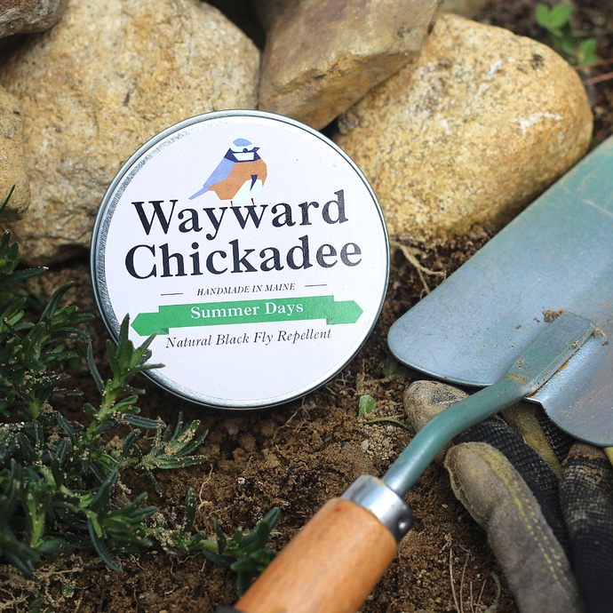 Wholesale Natural Black Fly Repellent (Retail $8.00 - $16.00) - Wayward Chickadee, handcrafted in Maine