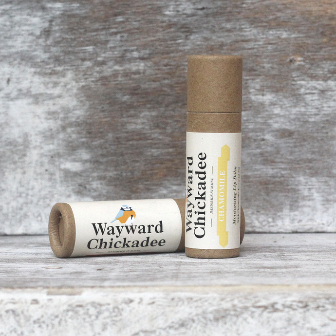 Wholesale Chamomile Lip Balm (Retail $4.50) - Wayward Chickadee, handcrafted in Maine
