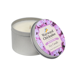 NEW - Blooming Lilac Natural Soy Candle - Wayward Chickadee