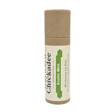 Load image into Gallery viewer, Exotic Mint Lip Balm - Wayward Chickadee, handcrafted in Maine