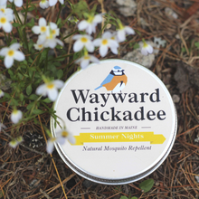 Load image into Gallery viewer, Wholesale Natural Mosquito Repellent (Retail $8.00 - $16.00) - Wayward Chickadee, handcrafted in Maine