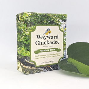 Wholesale Outdoor Blend Handcrafted Soap (Retail $6.50) - Wayward Chickadee, handcrafted in Maine