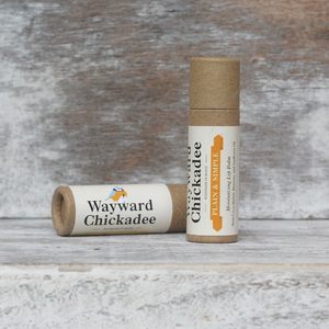 Wholesale Plain & Simple Lip Balm (Retail $4.00) - Wayward Chickadee, handcrafted in Maine