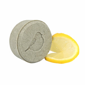 Revitalizing Solid Shampoo with Green Clay, Seaweed and Lemon Essential Oil - Wayward Chickadee