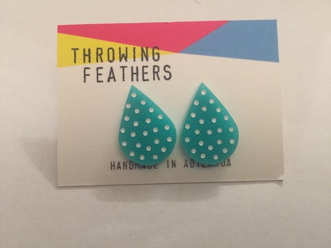 Throwing Feathers jewellery