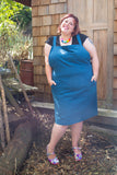 CORNELIA Pinafore teal