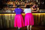 Pink a-line skirts for fat babes