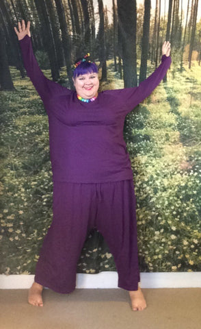 Jo Jo Jim Jams pants - Purple