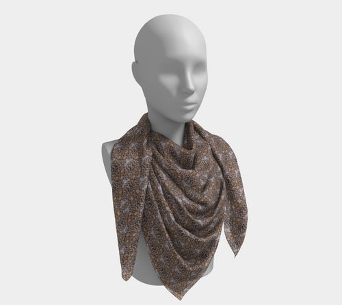 Soho Collection Scarf - Leopard print. Nothing is more rock chic than leopard print.