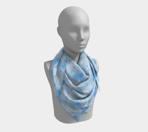 Ojai Scarf Bag - blue. Inspired by the beautiful town of Ojai in California