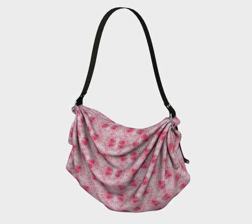 Ojai Scarf Bag - Pink. Inspired by the beautiful town and pink sunsets of Ojai in California