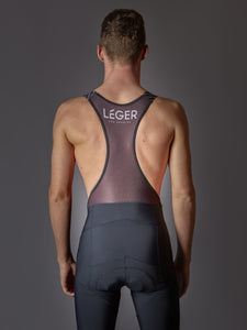 Léger Los Angeles Black Cycling Bib Shorts. Performance Bib Shorts. Cycling shorts. Road Cycling. Leger LA