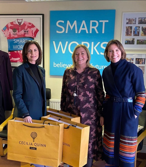 Cecilia Quinn partner with Smart Works