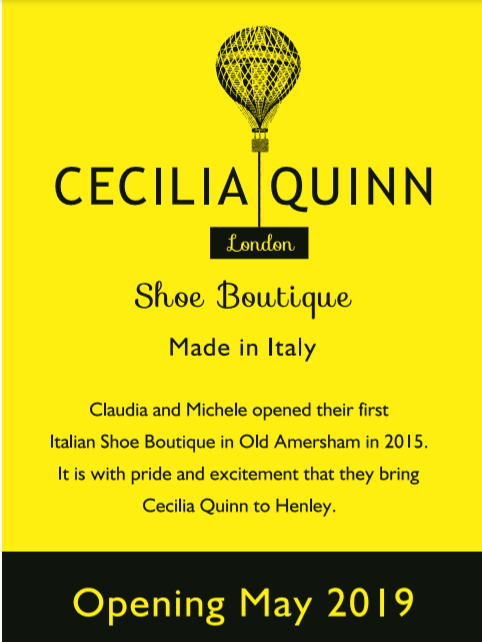 Cecilia Quinn to Open in Henley-on-Thames