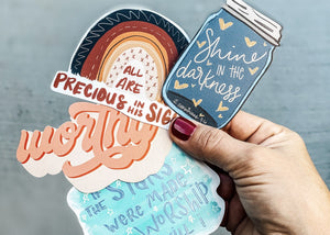 Sticker Folk - Monthly Subscription