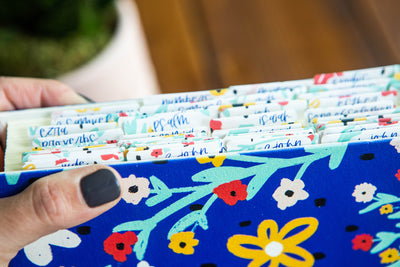 Summer Floral Bible Tabs - Kingfolk Co