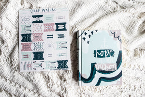 Deep Waters ESV Journaling Bible - Kingfolk Co