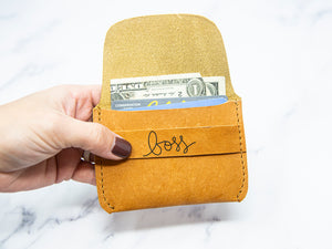 Boss Leather Wallet - Kingfolk Co