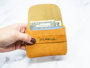 Mama Leather Wallet - Kingfolk Co