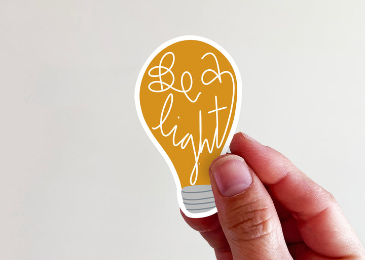 Be a Light Sticker - Kingfolk Co