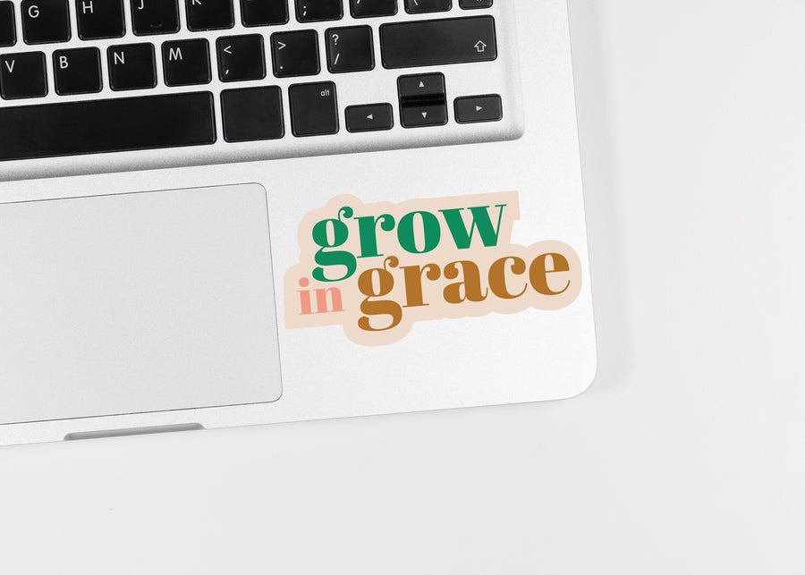 Grow in Grace Sticker - Kingfolk Co