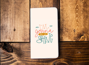 I'm Gonna Let it Shine Leather Notebook - Kingfolk Co