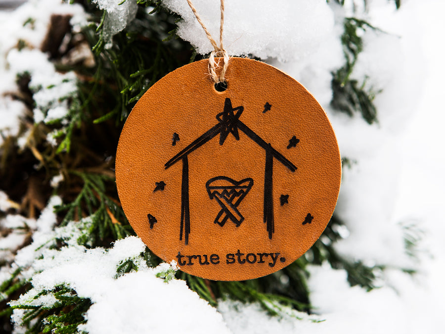 True Story Christmas Ornament - Kingfolk Co