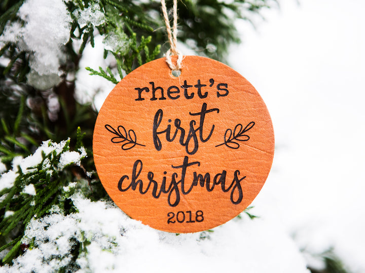 Baby's First Christmas Ornament - Kingfolk Co