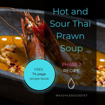 Hot and Sour Thai Prawn Soup
