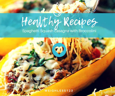 Spaghetti Squash Lasagna with Broccoli