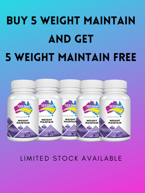 10 x 123 Diet Maintain Weight Management