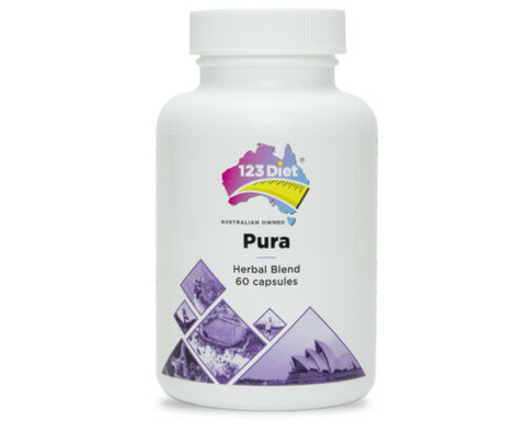 123 Diet Drops - 1 Bottle + 15 Day Pura Cleanse - Plus Free bottle of Weight Maintain