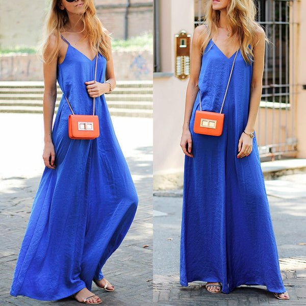 Brand New Fashion Women Linen Casual Solid Clubwear Summer Sleeveless Loose Party Jumpsuit Playsuit Trouser
