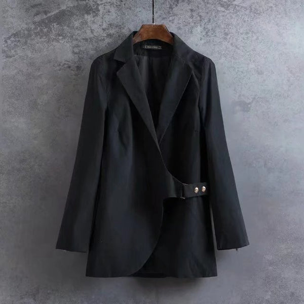 Europe Style Spring and Autumn New Arrival Fashion Blazer, Women Solid Color Slim Work Wear Cothing Suit Brand Jacket Coat